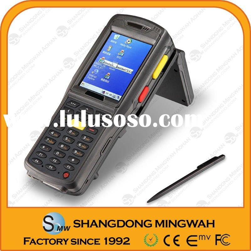 Wince handheld terminal with Barcode &Fingerprint scanner- factory since 1992 accpet paypal