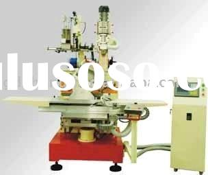 ZLCNC-S88 5-Axis & 2-Head Brush Drilling/Tufting Machine for round shape brush