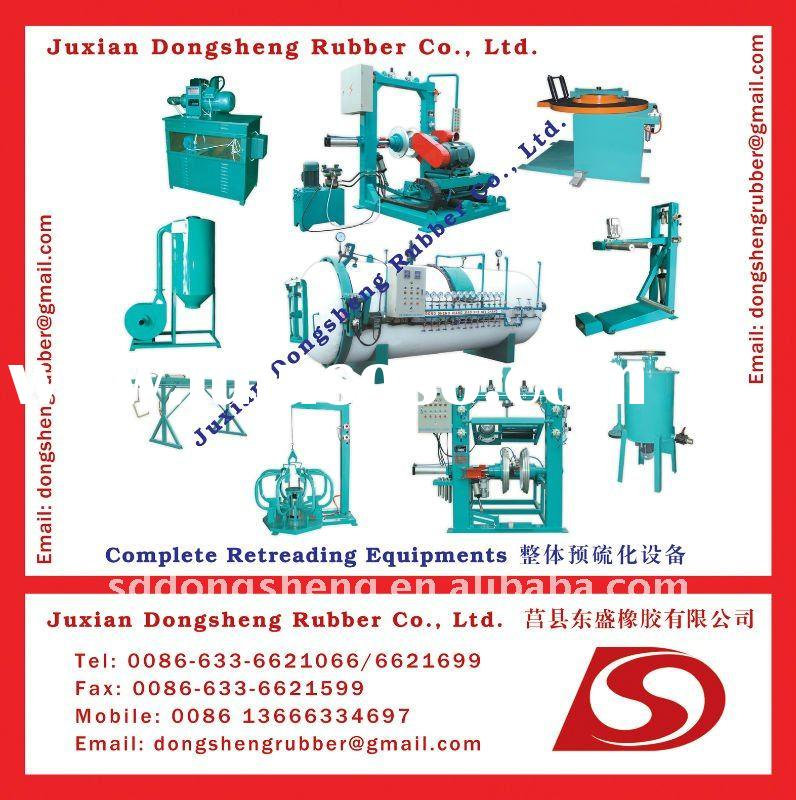 advanced used tyre retreading machine for sale