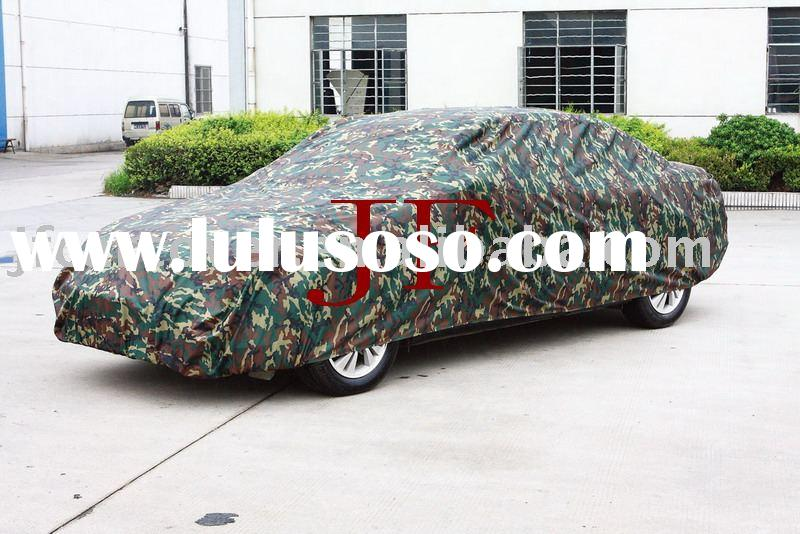camouflage color car cover/waterproof car cover/car covering