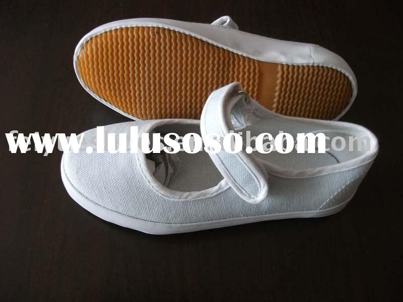 children white simple casual canvas shoes