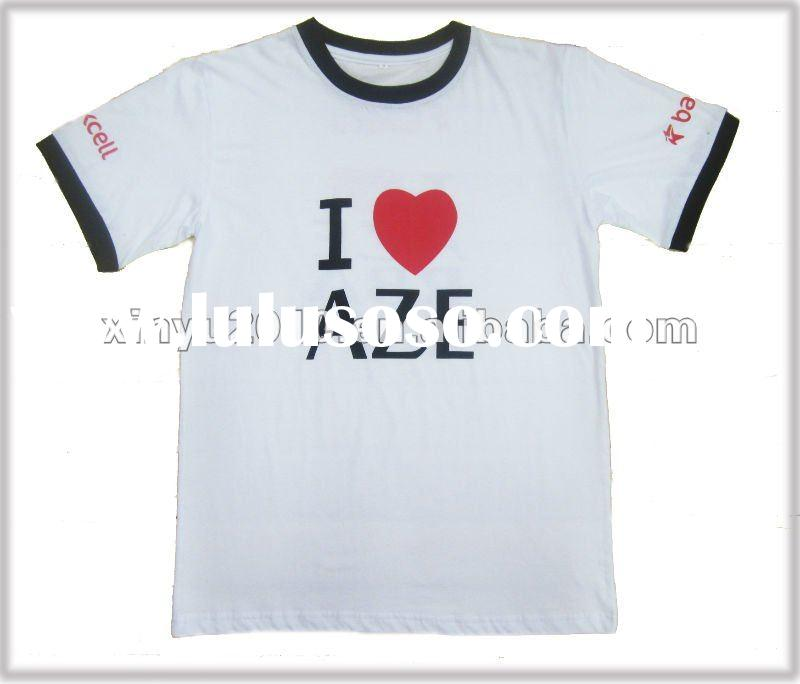 election tshirt (cheap t-shirt) plain white 120g
