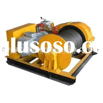 electric wire rope cargo winch