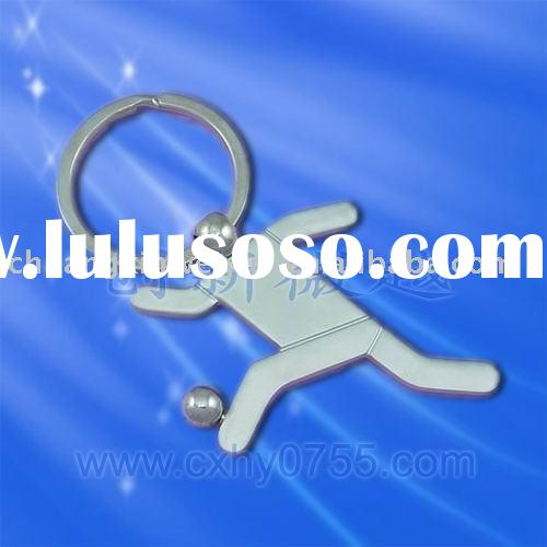 football sports keyholder for souvenir gifts