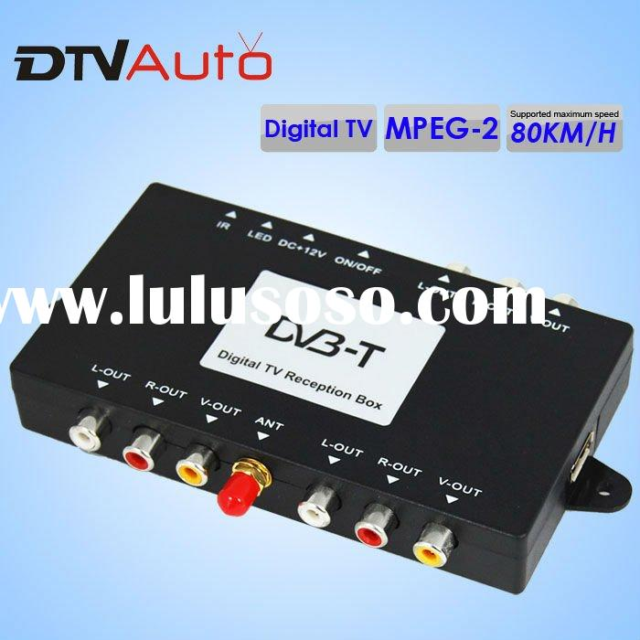 free sample UHF/VHF DVB-T car digital tv tuner