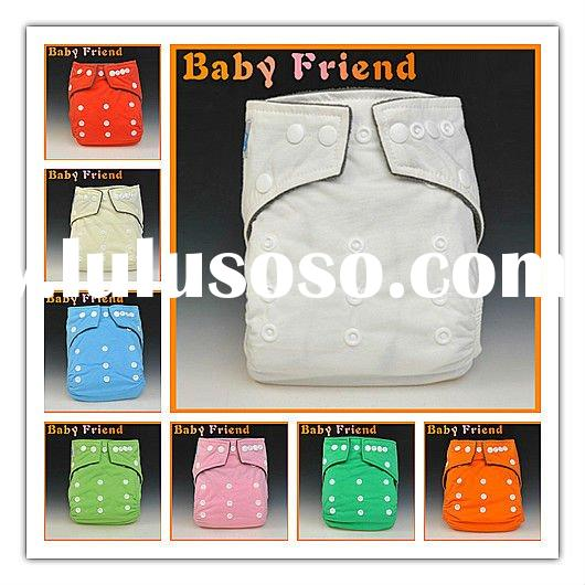 free shipping 8 bright color bamboo cotton waterproof washable baby cloth diaper one size wholesales