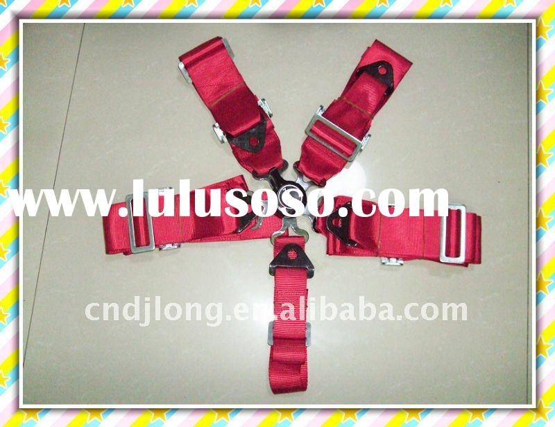 high quality 3 inch 5 points racing Safety seat belt