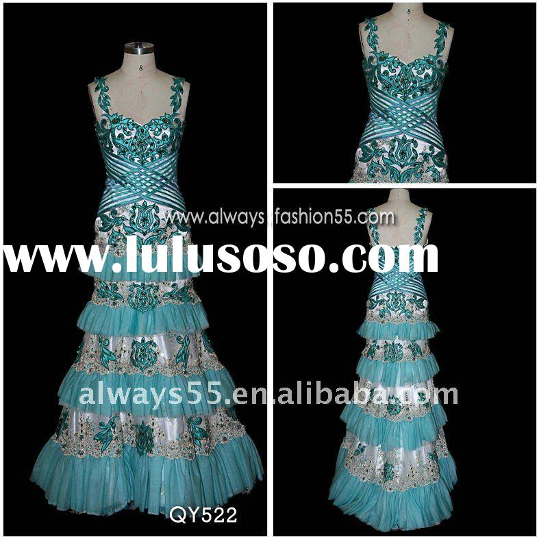 high quality african dresses qy522