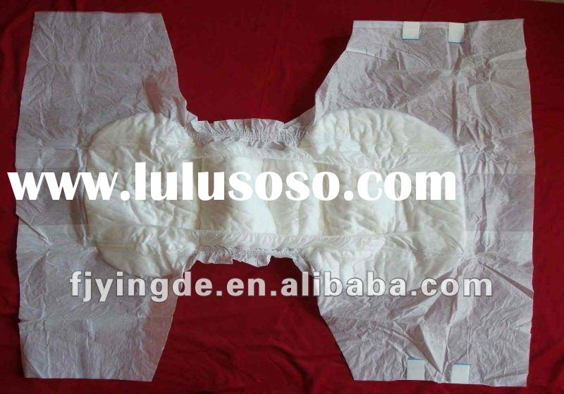 high quality double tape adult daily diaper for indian market