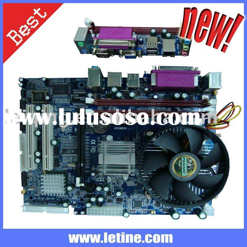 intel 945 chipset motherboard onboard CPU