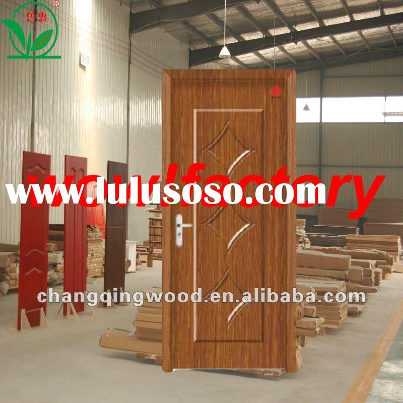mdf solid core wood main door models