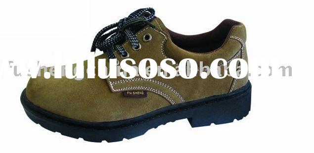 oil resistant safety work shoe