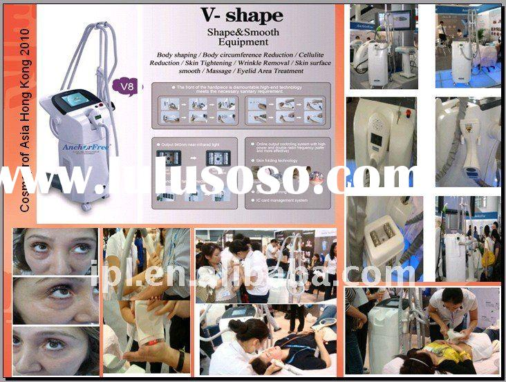 professional fat reduction body shaping beauty machine V8