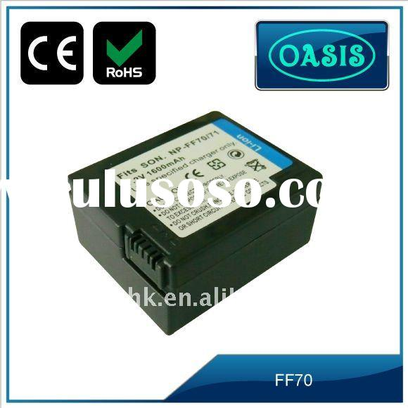 rechargeable camera Battery for SONY FF70 FF71