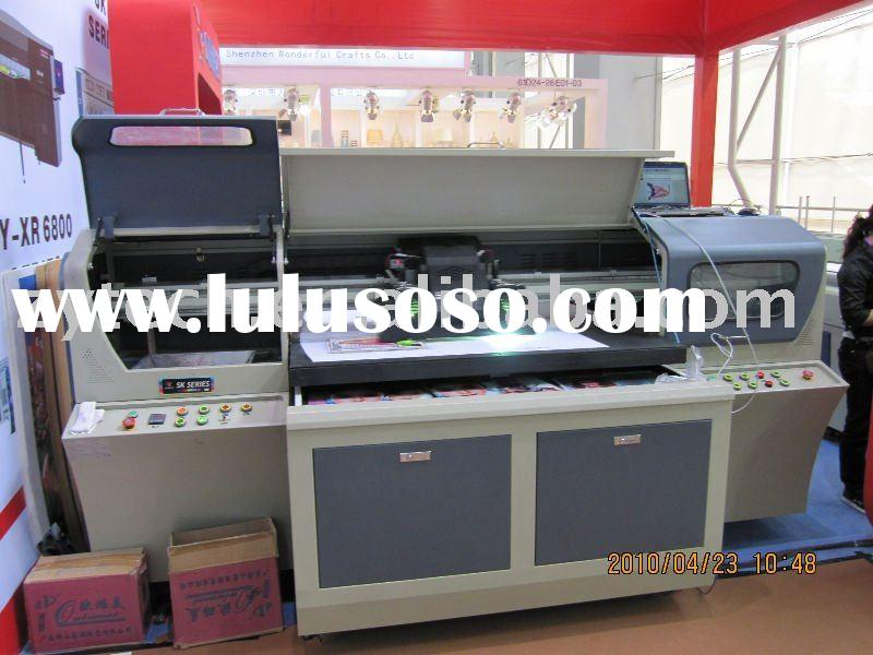 small size flatbed printer with 10cm printing height (ZY-UV1309C)