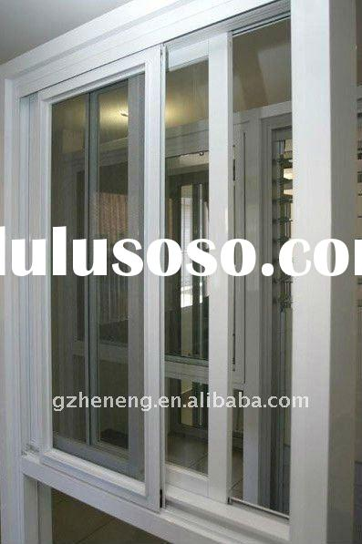 thermal break aluminum sliding window with laminated glass