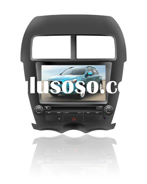 two din Car DVD Player With TV/AM/FM/Bluetooth/USB/SD CARD/GPS for MITSUBISHI ASX