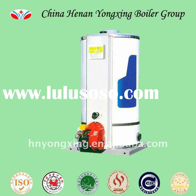 0.5t 7bar Gas/oil fired LSS series vertical steam boiler in China