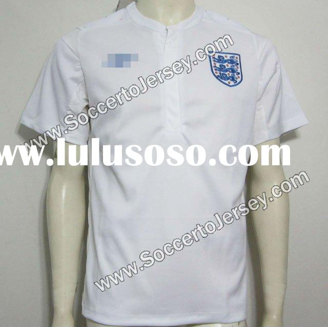 11/12 Thailand Version England Home white Soccer Jersey, Soccer Shirt, Football Shirt