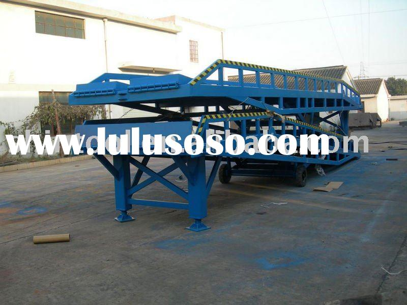 12T Hydraulic mobile container loading ramp