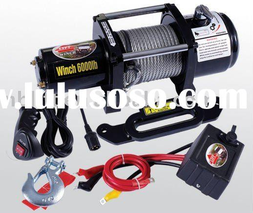 chion 8000 lb winch wiring
