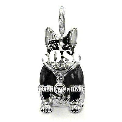 2012 animal charms hot sale black pink yellow red for choice