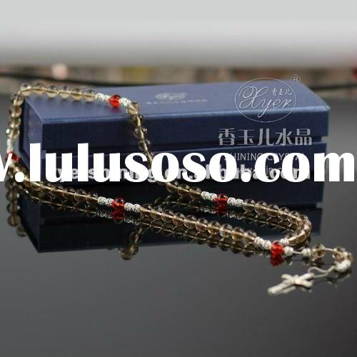 2012 hot selling crystal prayer beads jewelry islamic gifts