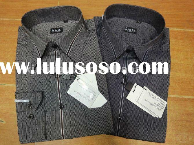 2012 hotsale top quality fashion soft mens dress shirt, formal shirt,colorful and models various,ret