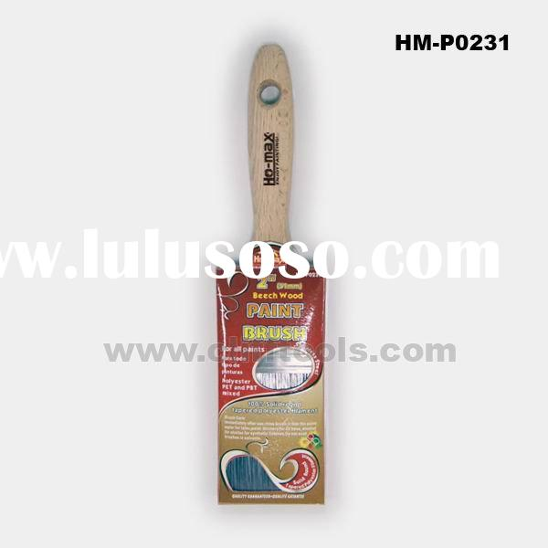 "2"" SHORT BEECH WOOD HANDLE PAINT BRUSH"
