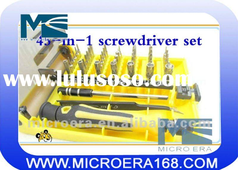 45-in-1 screwdriver set for Laptop computers and mobile phone repair tools