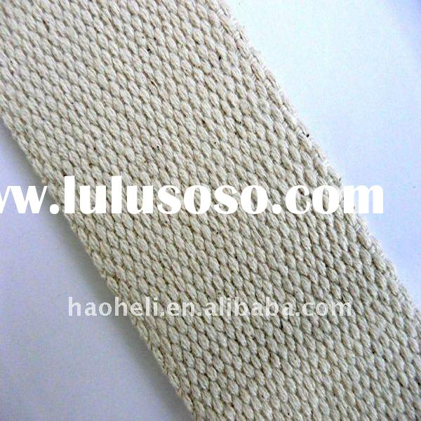 50mm natural cotton webbing,cheap cotton webbing