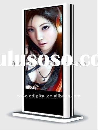 55 inch outdoor double side lcd ad player,digital totem for mall center