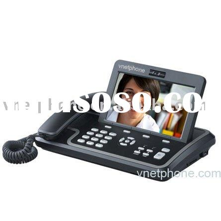 7inch color LCD and touch Screen video phone