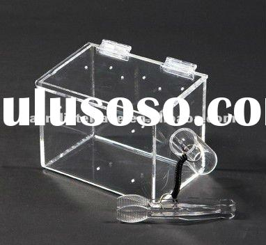 Acrylic Food Display Case With Tongs/Lucite Plexiglass Custom Bulk Food Displays