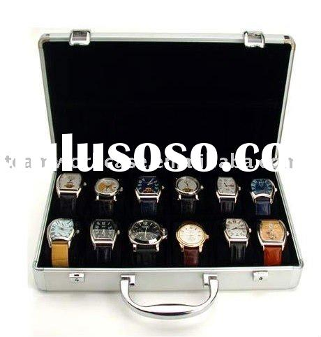 Aluminum Watch Storage Case