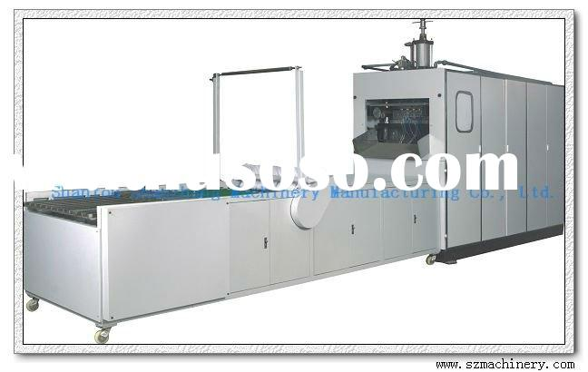 Automatic Disposable Plastic Plates and Cups Making Machine