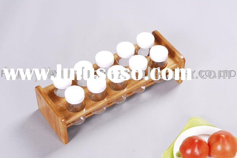 Bamboo Solid Spice rack