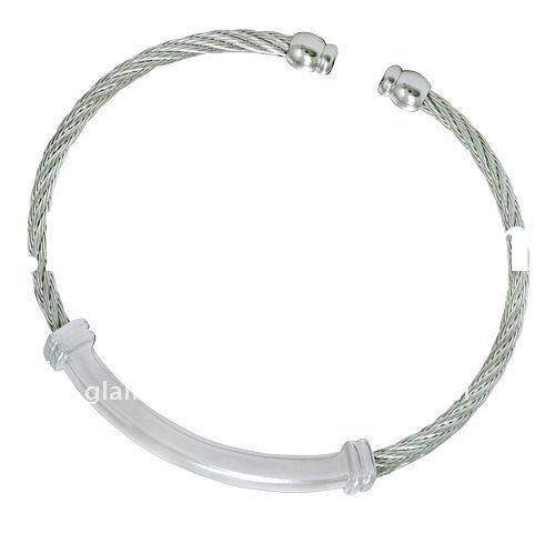 Best Chic Wire Bangle women accessory qaulity wholesale stainless steel jewelry