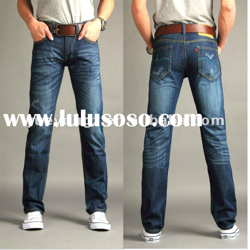 Blue Straight Man's fashion jeans at Good price