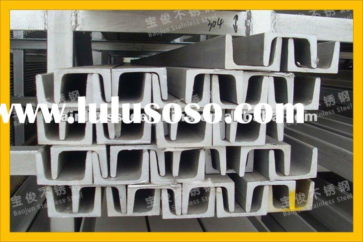C Shape Stainless Steel Channel Bar