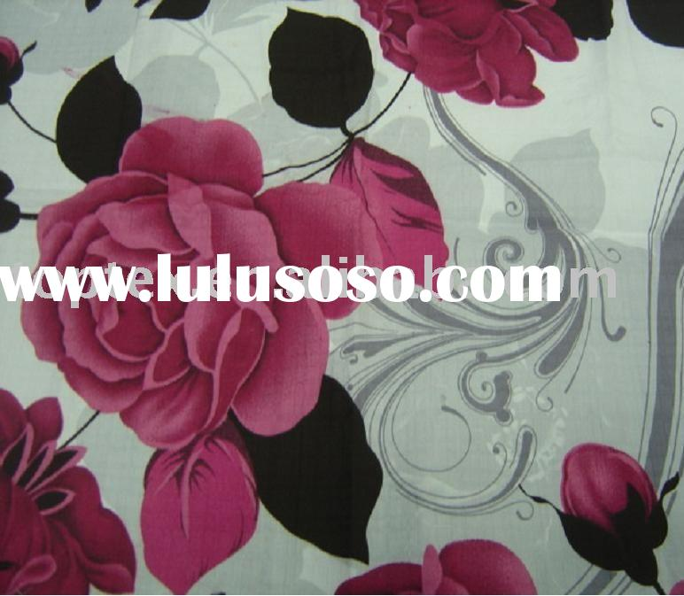 Cotton Printed bedding fabric/bed sheet fabric/wide width fabric