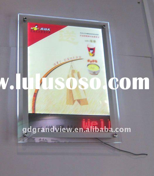 Crystal Light Box with LED Message Display