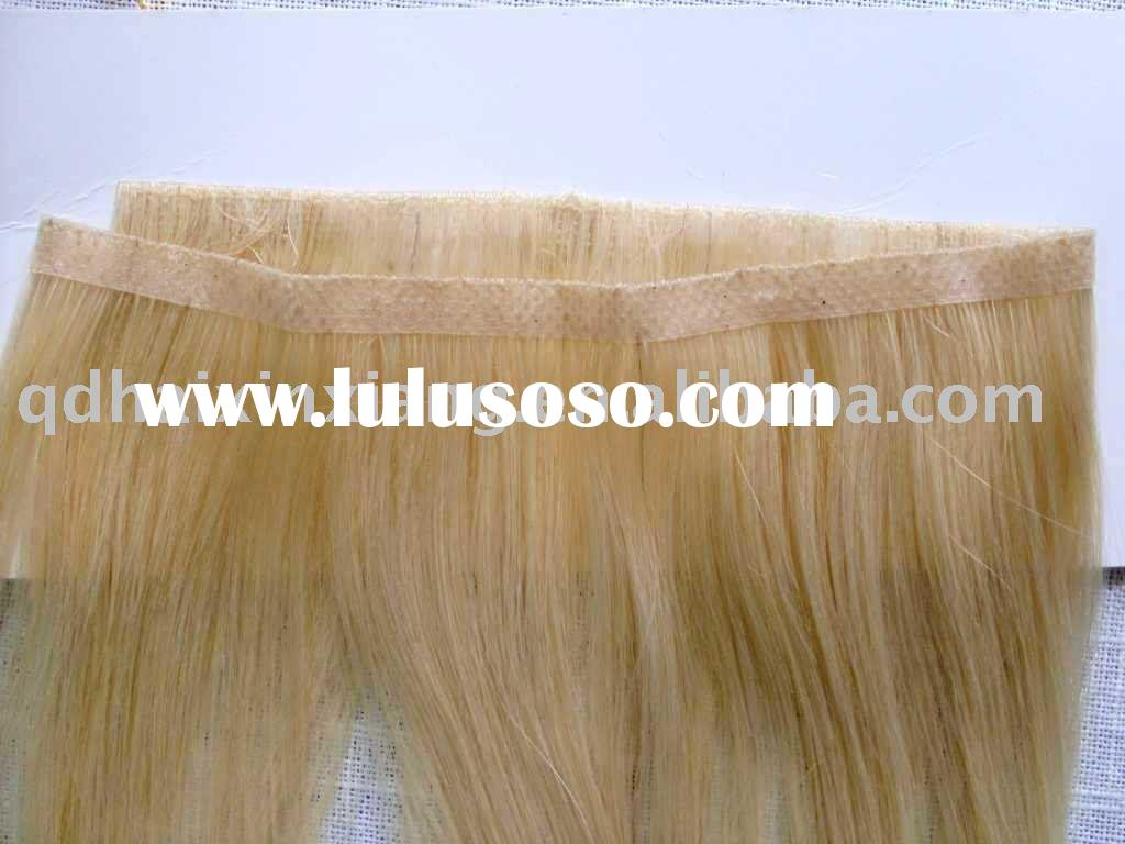 Discount Hot sale Fashion ladies` Glue Skin weft extensions