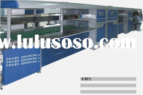 Double-layer Infrared Assembly Line/shoe making machine