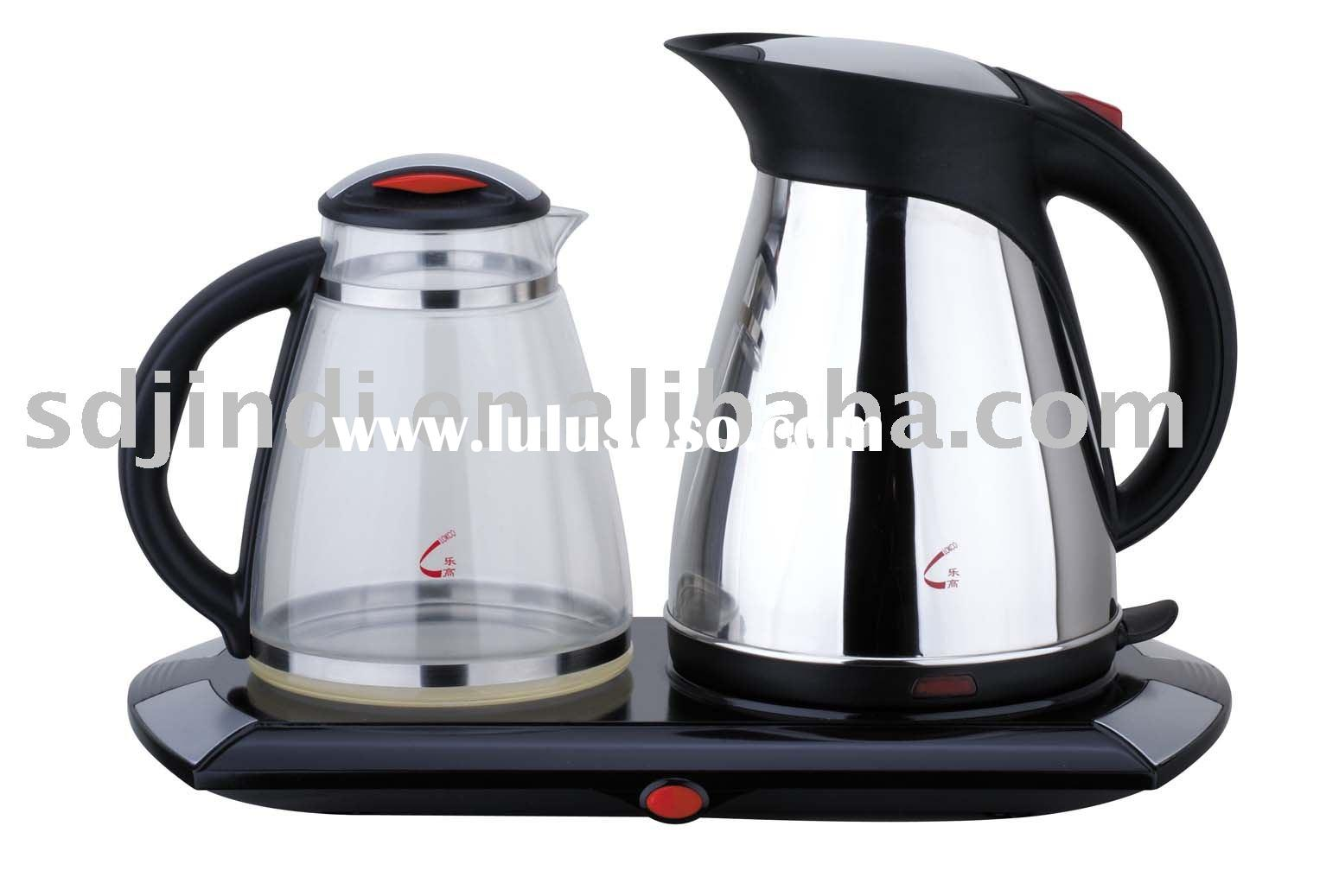 Electric Large capacity Stainless steel Tea Maker kettle set