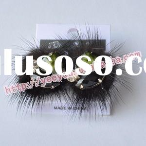 Fashionable design autumn winter feather stud Earrings SS05