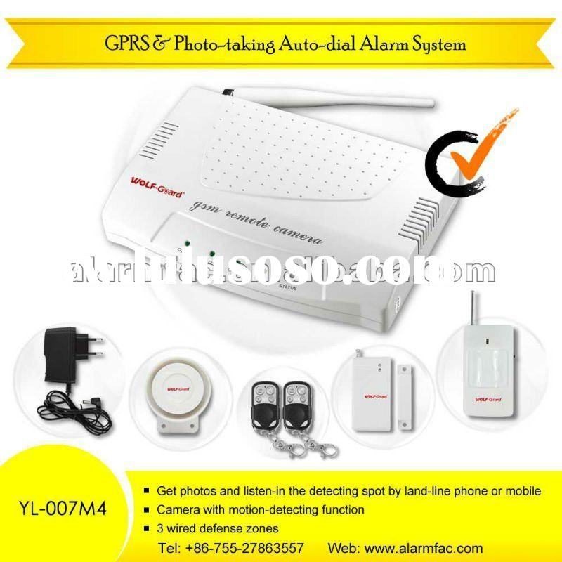 GSM MMS Home Alarm System with Photo-taking