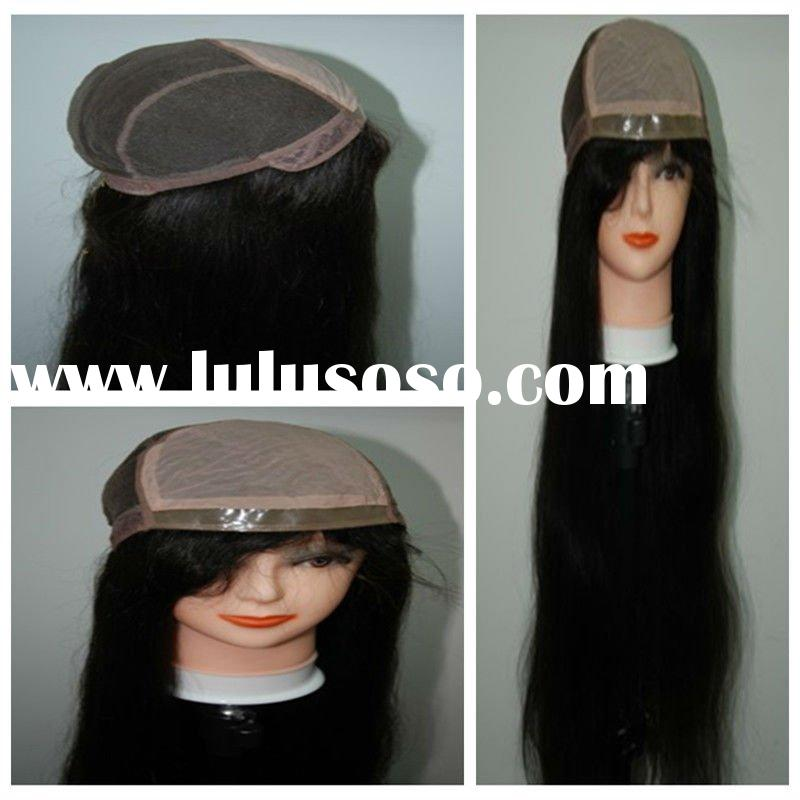 High Density 32 inch long full lace human wigs