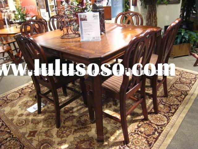 High Quality Soild Wood Dining Table and Chairs