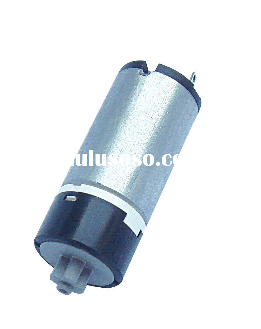 Low rpm high torque DC Gear Motor with Metal or Plastic Planetary gear box